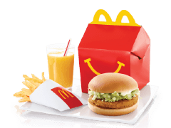 Happy Meal Chickenburger